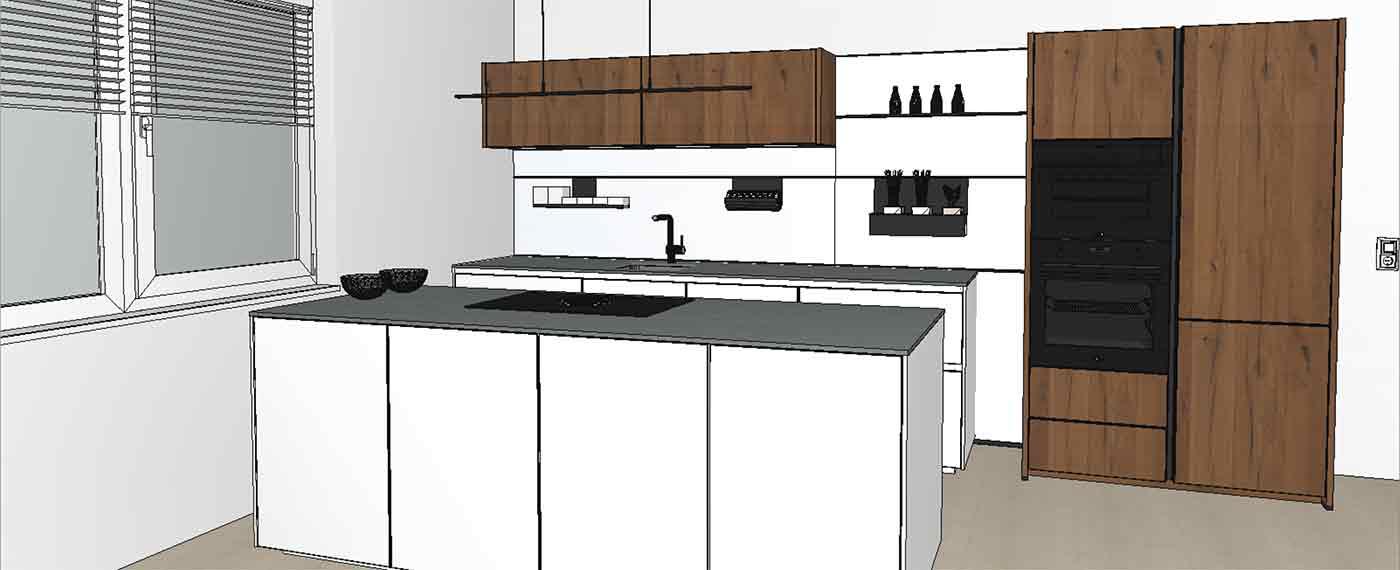 individuelle Küchenplanung im modernen Design