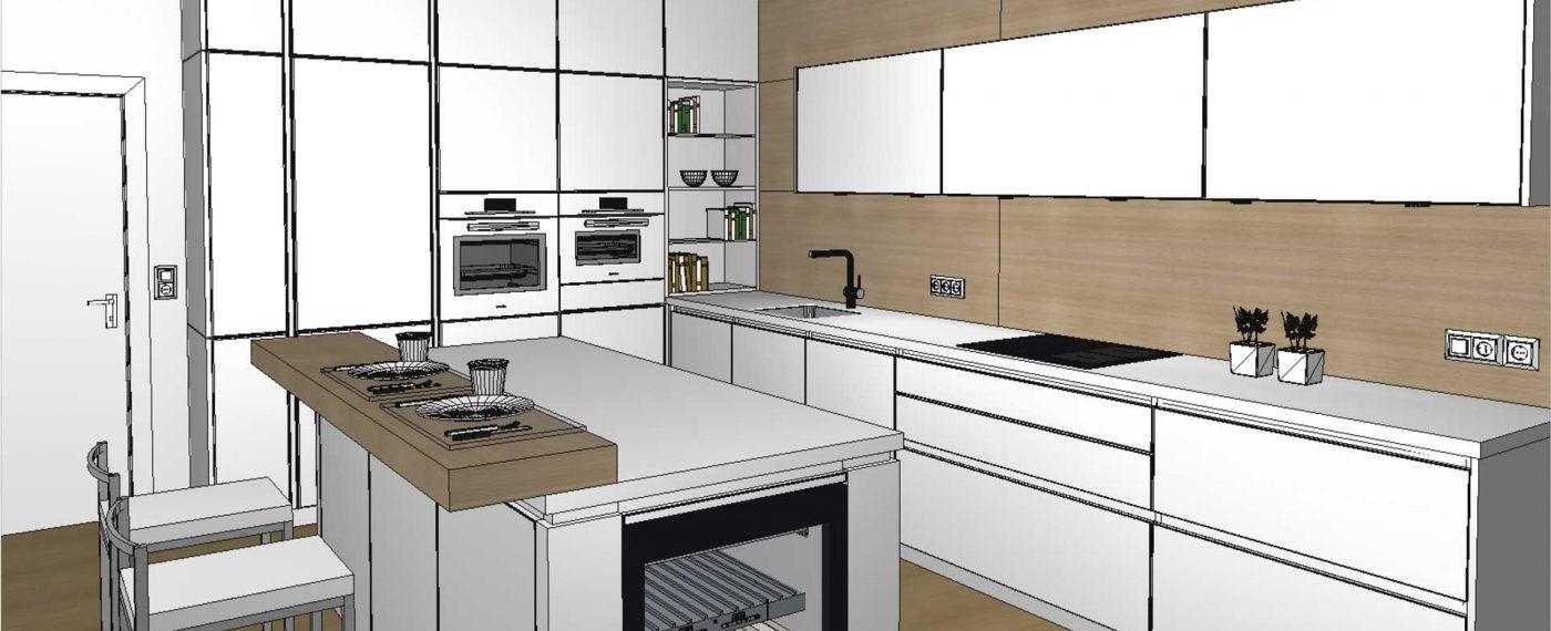 3D-Küchenplanung für Ihre Küche in Wien