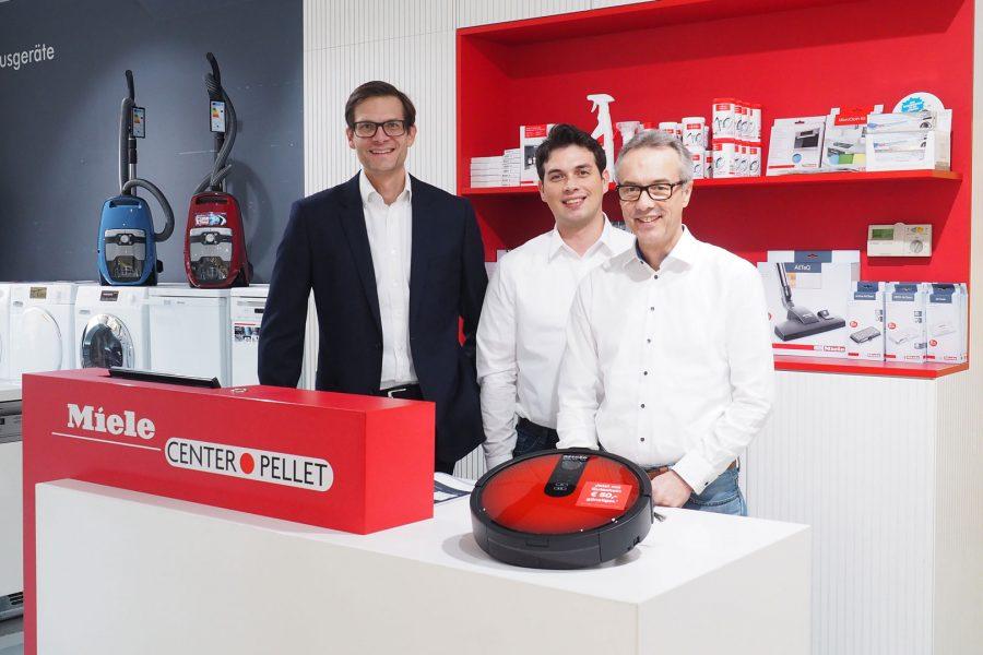 Kompetente und persönliche Beratung im Miele Center Pellet Wien