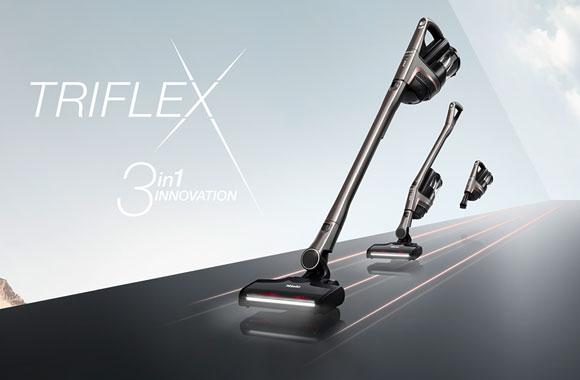 Der erste kabellose Handstaubsauger Triflex HX1