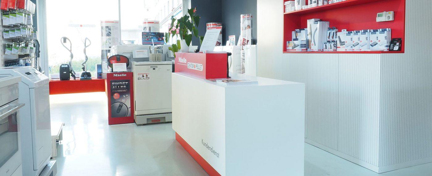 Persönliches Servies im Miele Center Pellet Wien