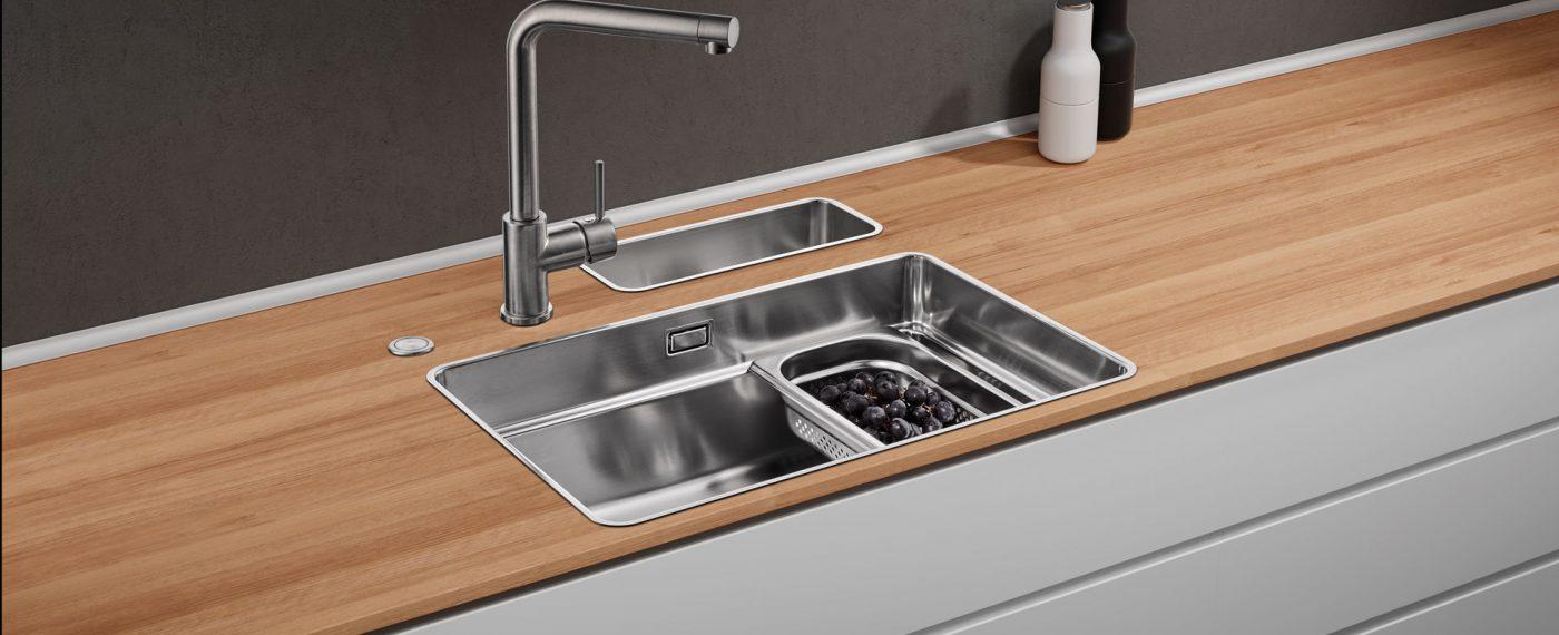 Naber Küchenarmaturen und Spülen aus Edelstahl für Ihre Küche in Wien