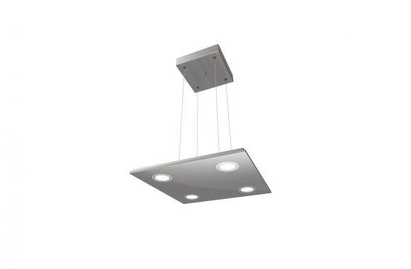 Naber Cavo LED Pendelleuchte Edelstahlgehäuse