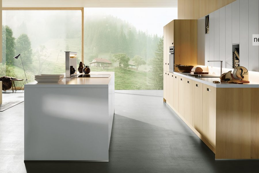 next 125 NX 620 Tanne schwarz gebürstet / Rubinrot-Satin