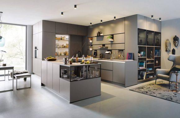 neola Küchen beim Miele Center Pellet in Wien