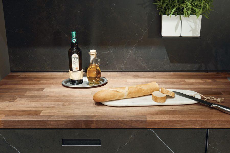 Küchenrückwände und Arbeitsplatten von Systemo
